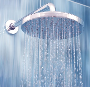 Large water saving shower head